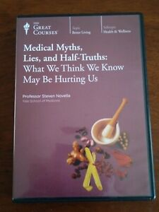 The Great Courses Medical Myths, Lies, and Half-Truths DVD