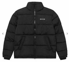 NICCE Deca Padded Jacket Womens Black Coat Ladies Size UK 6 (2XS) *REF111