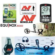 "Minelab Equinox 600 WATERPROOF Metal Detector With 11"" DD Smart Coil, Multi Freq"