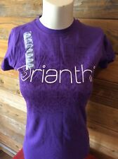 Orianthi Australian Guitarist purple t-shirt women's small New
