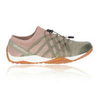 Merrell Womens UK Sizes 3 - 8 Trail Glove 4 Knit Stretch Trainers Pink Sediment