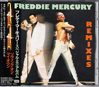 Freddie Mercury Remixes 1994 Japan CD 1st Press With Obi TOCP-8151 OOP Very Rare