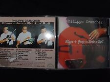 CD PHILPPE GRANCHER / BLUES + JAZZ = ROCK N' ROLL / RARE /