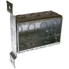 Raco Standard Switch Outlet Celing Wall Electrical Box 3 Gang Metal Interior