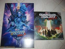 Marvel GUARDIANS OF THE GALAXY Vol 2 Lot Of 2 IMAX RealD Exclusive Movie Posters