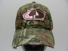 MOSSY OAK - PINK & CAMO - ONE SIZE ADJUSTABLE STRAPBACK BALL CAP HAT!