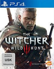 Sony PS4 Playstation 4 Spiel ***** The Witcher 3 Wild Hunt ***********NEU*NEW*18