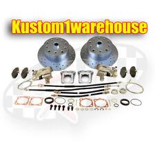 Rear disc brake conversion kit for 58-67 VW 5 x 4 1/2 Ford w/emergency parking