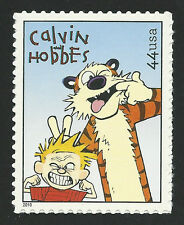 Calvin and Hobbes Bill Watterson Sunday Funnies Comic Strip Stamp MINT CONDITION