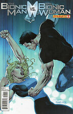 The Bionic Man v The Bionic Woman #1 (NM)`13 Champagne/ Luis (Cover A)