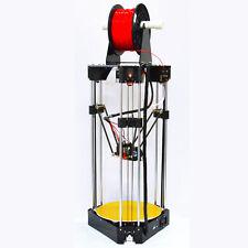 New!Keyes Delta Rostock 3D Printer High Speed 3D Printer Parallel Arm+Manual