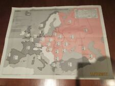 LOTE 4 MAPAS GUERRA FRIA 1988-1991 - LOT OF 4 COLD WAR MAPS 1988-1991
