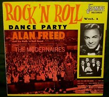 ALAN FREED Feat THE MODERNAIRES Rock N Roll Dance Party UK JASMINE 1984