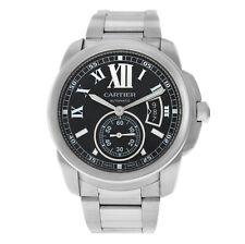 Cartier Calibre de Cartier 3389 W7100016, мужские стальные часы с датой 44 мм