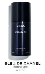 CHANEL BLUE De CHANEL Deodorant Spray 3.4 oz , NEW, SEALED