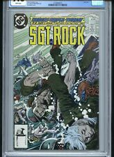 Sgt Rock #422 CGC 9.8 White Pages Last Issue