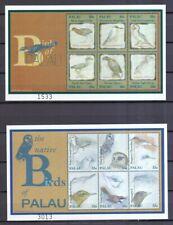 Palau-Inseln 2000 postfrisch MiNr. 1661-1672 Block 113-114  Einheimische Vögel