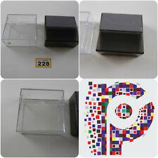 2 Disk storage boxes hold around 12 disks each Amiga Atari PC
