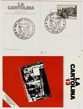 """#LIGNANO SABBIADORO: MOSTRA CARTOLINE D'EPOCA 1984 ANNULLO SI CART.""""LA CARTOLINA"""
