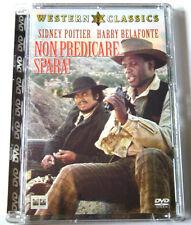 Dvd Non predicare... spara! - ed Super Jewel box con Sidney Poitier 1972 Nuovo