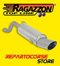 RAGAZZON TERMINALE SCARICO OVALE 135x90mm ALFA ROMEO MITO (955) 1.4 58kW 79CV