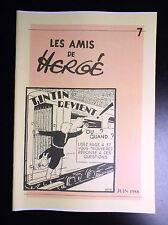 Rare à ce prix ! Copie Revue des Amis de Hergé N° 7 Tintin ADH TBE