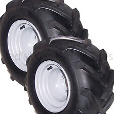 2) 18x9.50-8 18/9.50-8 Riding Lawn Mower Garden Tractor Tire Rim Wheel Assembly