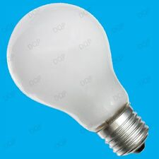 6x 100W TUNGSTEN FILAMENT DIMMABLE PEARL GLS LIGHT BULBS E27 ES SCREW LAMPS