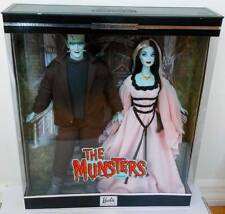 The Munsters Giftset Barbie & Ken~Lily & Herman~NRFB~NIB