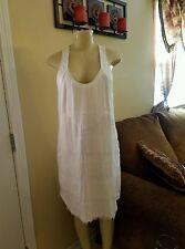 NWOT Venus    FRINGE DETAIL DRESS Orig   $39  Sale  $ 30 Size L