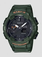 Casio Baby-G * BGA230S-3A Dual Time Khaki Green Anadigi Watch COD PayPal
