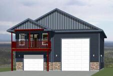 36x42 Apartment with 1-Car 1-RV Garage -- PDF Floor Plan -- 853 sqft -- Model 2A
