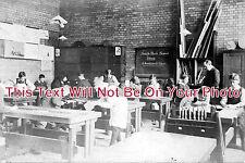 ES 243 - Woodwork Class, South Park School, Ilford, Essex - 6x4 Photo
