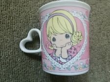 Vintage Precious Moments Coffee Mug/Cup w Heart Handle All Your Days Rosy (1997)