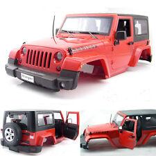 1:10 Red Hard Plastic BODY SHELL for RC Model Climbing Car Land Rover Wrangler