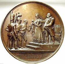 NAPOLI-Due Sicilie (M.Carolina di Borbone) Medaglia 1820,RRRRR.