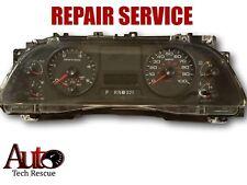 2005 2006 2007 FORD F250 F350 F450 F550 INSTRUMENT CLUSTER REPAIR SERVICE