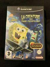 Bob L'Eponge la Créature du Crabe Croustillant - Jeu Gamecube Complet