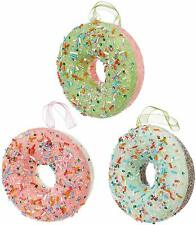 Raz Imports Donut Ornament, Choose Your Color (3916167)