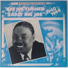 BIG JOE TURNER: Early 1940-1944 R&B Vinyl LP Heritage NM MCA