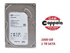 "HARD DISK INTERNO HDD 1 TB 1000 GIGA SEAGATE ST1000DM003  SRT009 SATA  3.5"""
