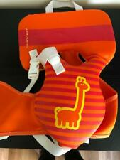 Stearns Puddle Jumper Orange and Yellow- Giraffe- Infant Life Jacket