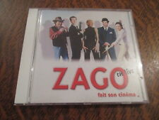 cd album zago fait son cinema en live