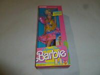 NEW IN BOX BARBIE DOLL CALIFORNIA DREAM VINTAGE MATTEL 4439 1987 COMIC BOOK NIB
