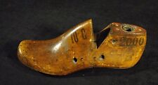 "Small Size Cobbler's Wood Shoe Mold/Form ""Vulcan 10 50"" - ""10 C"" - 2000"