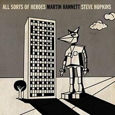 """Martin Hannett & And Steve Hopkins: All Sorts Of Heroes Vinyl 7"""" Record"""