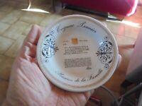 Ancien Cendrier  ou Coupelle dessous de verre du Cognac Prunier