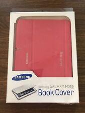 Samsung Galaxy Note 10.1 Leather Flip Case Pink