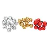 10Pcs Glitter Christmas Balls Xmas Tree Hanging Ornament Christmas Decor SP