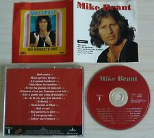 CD ALBUM COMPILATION BEST OF VOLUME 1 MIKE BRANT 14 TITRES 1997